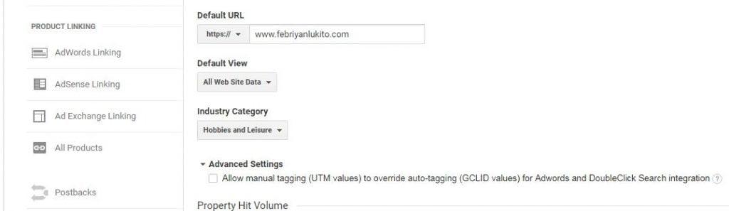 google analytics blog