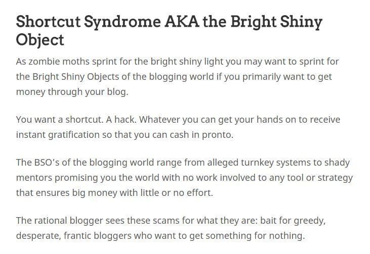 demi uang dari blog - sindrom para blogger
