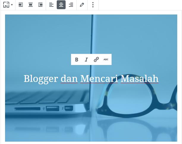fitur dalam gutenberg wordpress